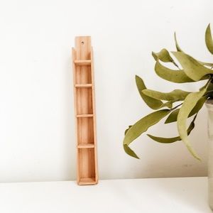 Small wood shelf